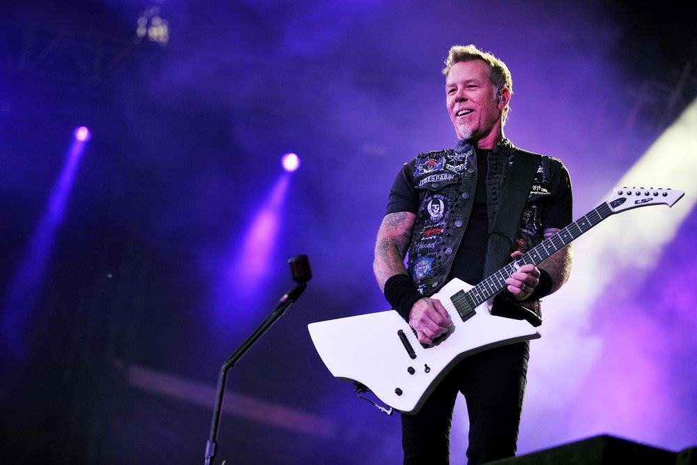 Metallica-Frontmann James Hetfield