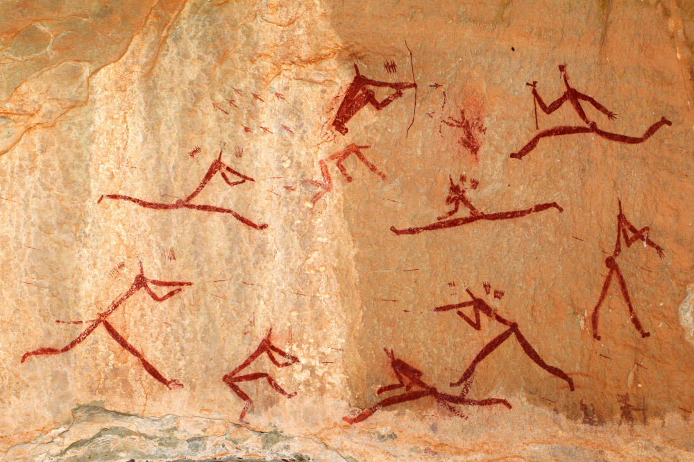 Bildquelle: Bushmen rock painting, Drakensberg mountains © EcoView - Fotolia