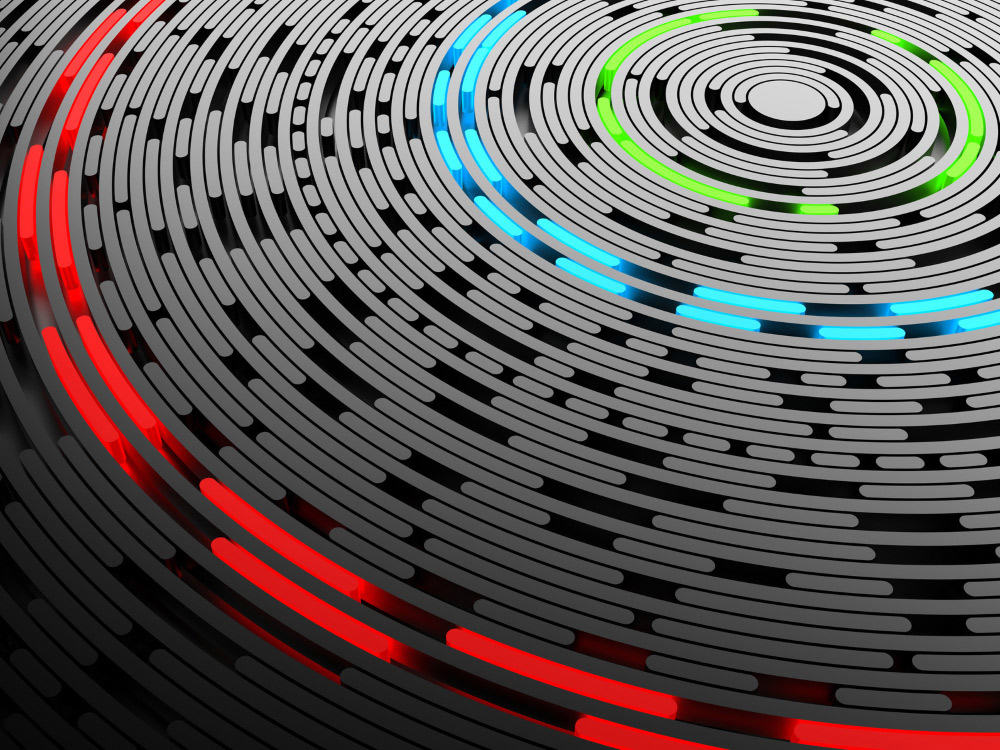 Bildquelle: Data disc background © Сake78 (3D & photo) - Fotolia